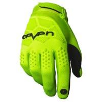 Motocross Gloves Seven Rival Yellow