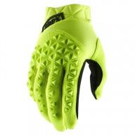 Motocross-Handschuhe 100% AIRMATIC Yellow
