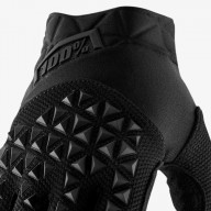 Minicross-Handschuhe 100% AIRMATIC YOUTH Black