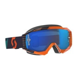 Gafas de Motocross SCOTT Hustle MX Orange Blue,Gafas de Motocross