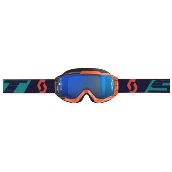 Motocross Goggles SCOTT Hustle MX Orange Blue