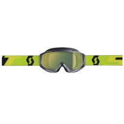 Occhiali Motocross SCOTT Hustle MX Blue Yellow,Occhiali Maschere Motocross