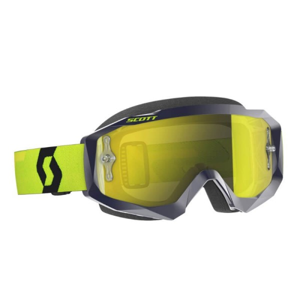Gafas de Motocross SCOTT Hustle MX Blue Yellow