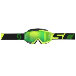 Gafas de Motocross SCOTT Hustle MX Yellow Green,Gafas de Motocross