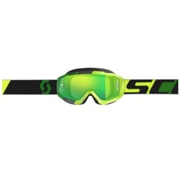 Occhiali Motocross SCOTT Hustle MX Yellow Green,Occhiali Maschere Motocross