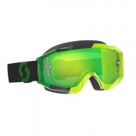 Motocross Goggles SCOTT Hustle MX Yellow Green