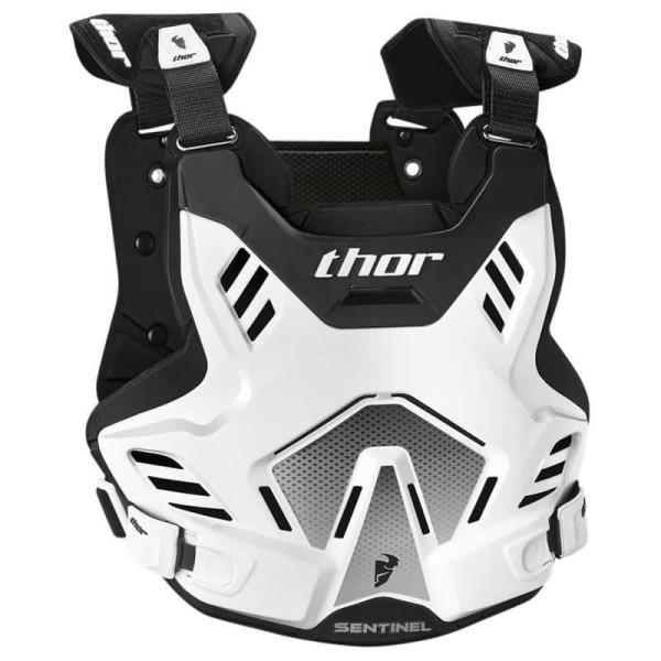 Motocross Brustpanzer THOR Sentinel GP White