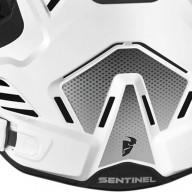 Plastron Protecteur Motocross THOR Sentinel GP White