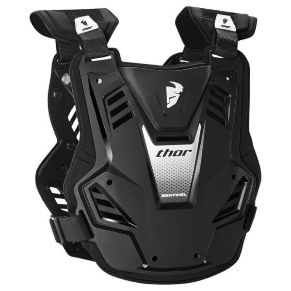 Motocross Brustpanzer THOR Sentinel GP Black