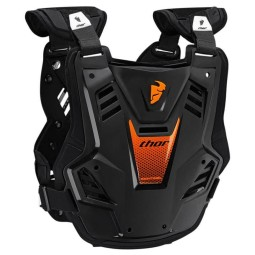 Pettorina Motocross THOR Sentinel GP Black Orange,Pettorine Motocross