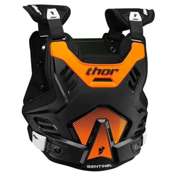 Plastron Protecteur Motocross THOR Sentinel GP Black Orange