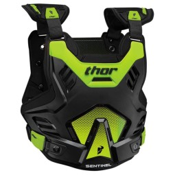 Chest Roost Protective Motocross THOR Sentinel GP Black Green