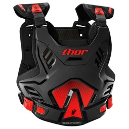 Motocross Brustpanzer THOR Sentinel GP Black Red