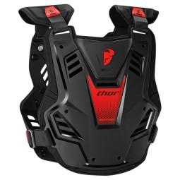 Plastron Protecteur Motocross THOR Sentinel GP Black Red,Plastrons Motocross