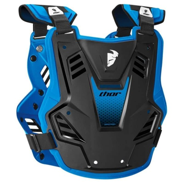 Chest Roost Protective Motocross THOR Sentinel GP Black Blue