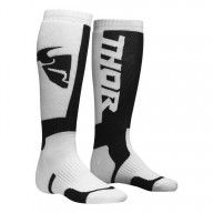 Motocross Socks THOR MX Sock White Black