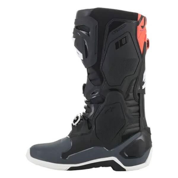 Motocross Boots Alpinestars Tech 10 Black Grey Orange