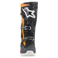 Motocross Stiefel Alpinestars Tech 10 Black Grey Orange