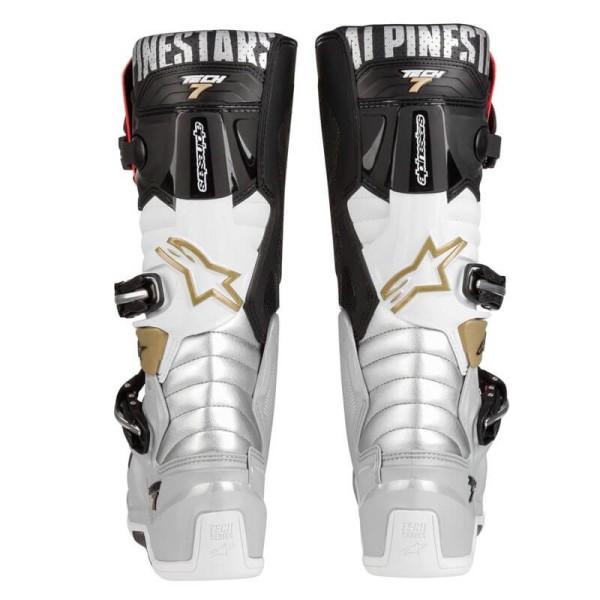 Botas Motocross Alpinestars Tech 7 Black Silver