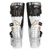 Bottes Motocross Alpinestars Tech 7 Black Silver