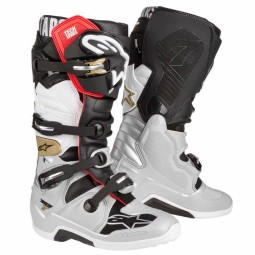 Bottes Motocross Alpinestars Tech 7 Black Silver