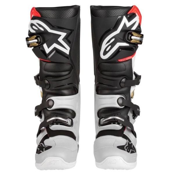 Motocross Boots Alpinestars Tech 7 Black Silver