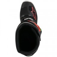 Motocross Stiefel Alpinestars Tech 7 Black Red Green