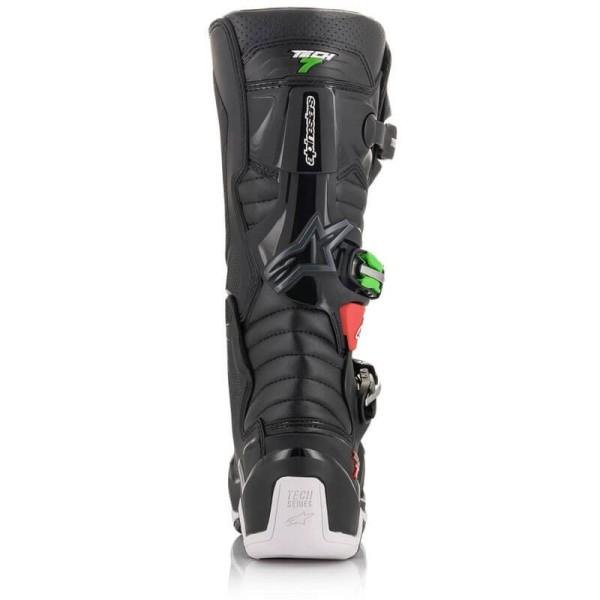 Motocross Boots Alpinestars Tech 7 Black Red Green