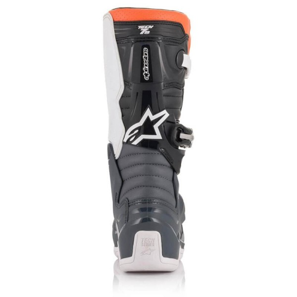 Minicross Boots Alpinestars Tech 7S Black White Orange