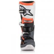 Minicross Stiefel Alpinestars Tech 7S Black White Orange