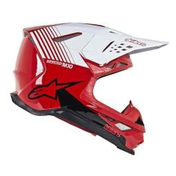 Motocross Helmet Alpinestars S-M10 Dyno Red White,Motocross Helmets
