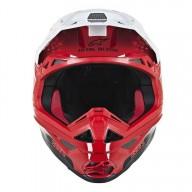 Casque Motocross Alpinestars S-M10 Dyno Red White