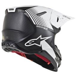 Motocross Helmet Alpinestars S-M10 Dyno Black White,Motocross Helmets