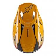 Casco de Motocross Alpinestars S-M10 Dyno Black Orange