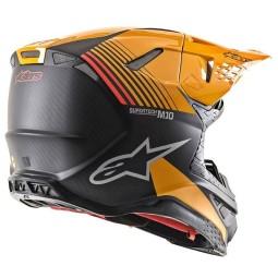 Casque Motocross Alpinestars S-M10 Dyno Black Orange