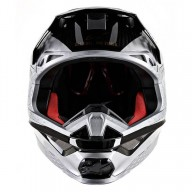 Casco de Motocross Alpinestars S-M10 Alloy Silver Black