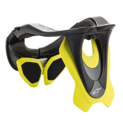 Motocross Neck Brace Alpinestars BNS Tech-2 Black Yellow