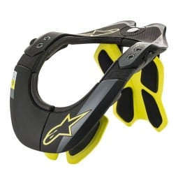 Collare Motocross Alpinestars BNS Tech-2 Black Yellow,Collari Motocross