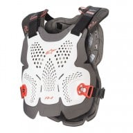 Chest Roost Protective Motocross Alpinestars A-1 Plus White