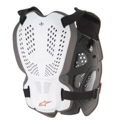 Plastron Protecteur Motocross Alpinestars A-1 Plus White