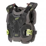 Plastron Protecteur Motocross Alpinestars A-1 Plus Anthracite