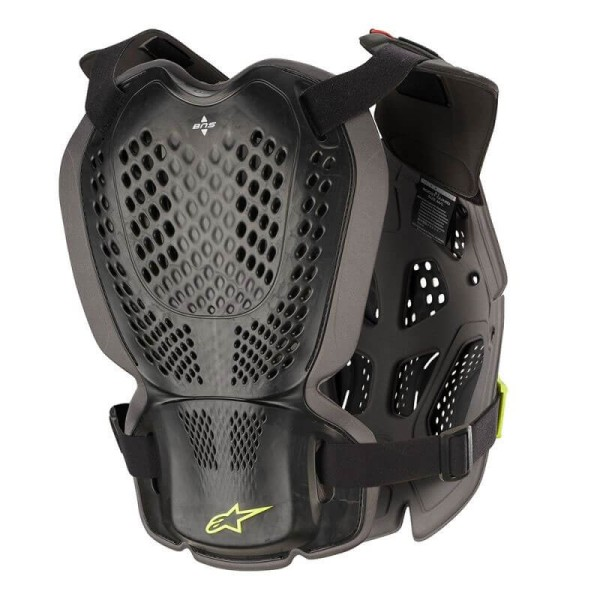 Chest Roost Protective Motocross Alpinestars A-1 Plus Anthracite