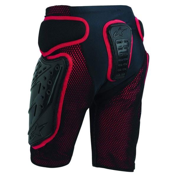 Motocross Armored Shorts Alpinestars Bionic Freeride