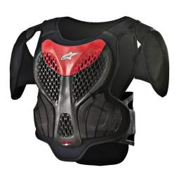 Pettorina Motocross Bambino Alpinestars A-5S Black Red,Pettorine Motocross