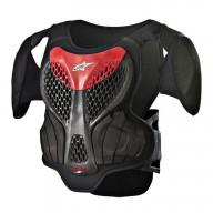 Peto Protector Motocross Nino Alpinestars A-5S Black Red