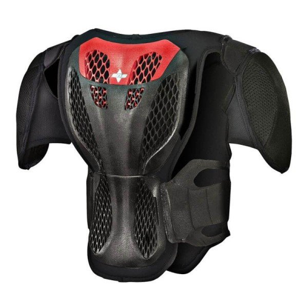 Chest Roost Protective Motocross Alpinestars A-5S Youth Black Red