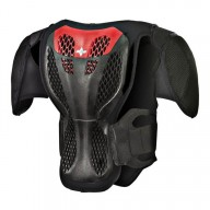 Plastron Protecteur Motocross Enfant Alpinestars A-5S Black Red