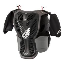 Plastron Protecteur Motocross Enfant Alpinestars A-5S Black Grey,Plastrons Motocross