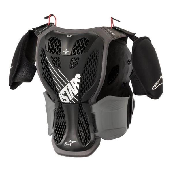 Motocross Brustpanzer Alpinestars A-5S Youth Black Grey