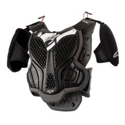 Motocross Brustpanzer Alpinestars A-5S Youth Black Grey